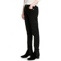 Pantaloni de bumbac Slim fit din ţesatura elastica