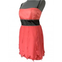 Rochie de seara de culoare corai Amberly