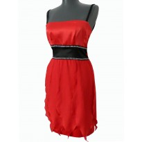 Rochie de seara de culoare rosie Amberly
